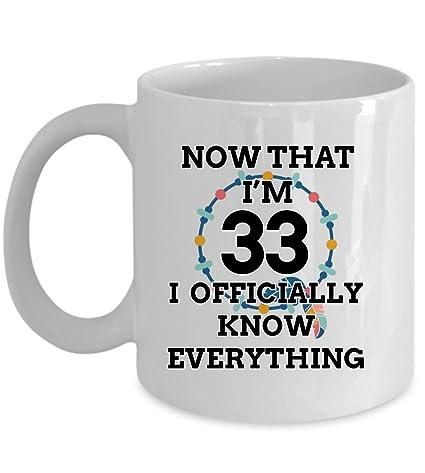 Amazon 33 Birthday Mug
