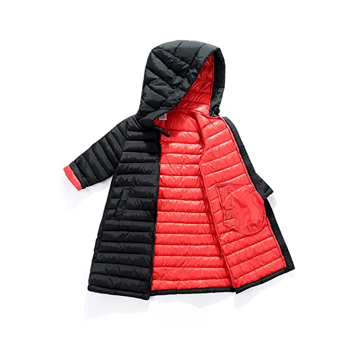 6f2158fad Amazon.com  kaiCran Boys Girls Winter Jackets Cotton Lined Long ...