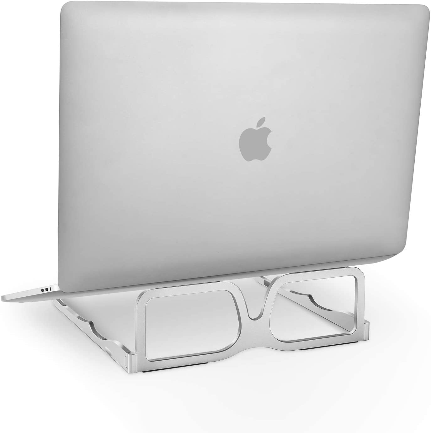 Laptop Stand Ergonomic for Desk, The Lightest and Most Portable Aluminum Notebook Riser Holder, Foldable Desktop Mount Compatible with Mac MacBook Pro Air, Surface, Lenovo, and More 10-16 in Computer