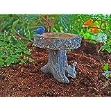 Wholesale Fairy Gardens Digging Dog Birdbath #DDBB95