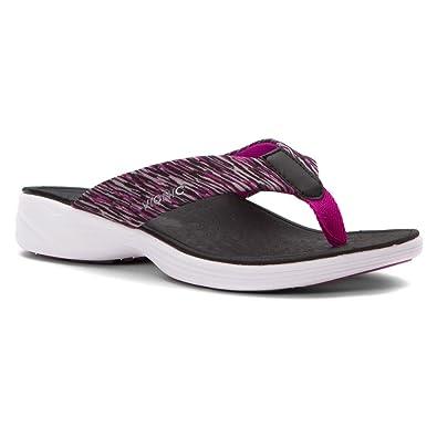 Vionic Serene Kapel - Womens Active Sandal Black - 5