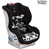 (跨境自营)(包税) 美版 Britax 宝得适 MARATHON ClickTight Convertible儿童安全座椅, COWMOOFLAGE 奶牛色