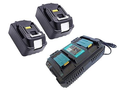 Golem-power - Cargador para Makita BL1850, BL1830, BL1860 ...