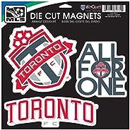 WinCraft MLS Toronto FC Car/Fan Magnet, Large/11 X 11-Inch, White
