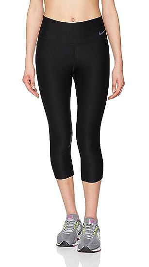 Nike Power Capri Tight Poly Collant pour Femme  Amazon.fr  Sports et ... 8a72ab0bd71