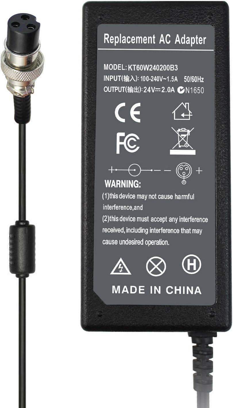 24V 2A Battery Charger For Electric Scooter Razor E125 E150 E175 E225 E325 E500S