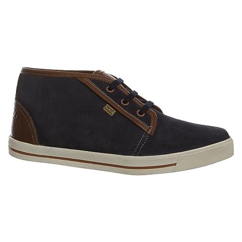 Kickers - Mocasines para hombre, color azul, talla 40: Amazon.es: Zapatos y complementos