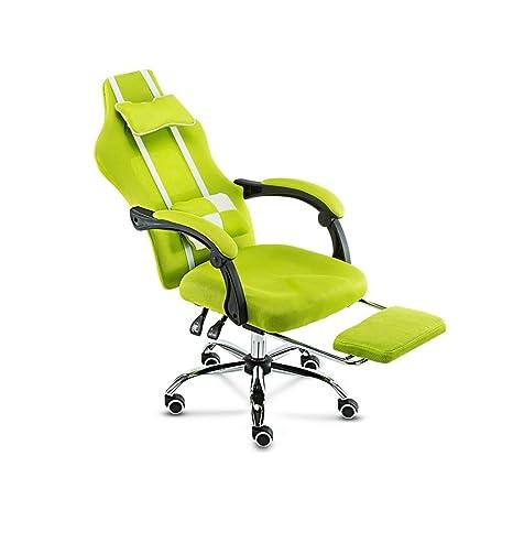 Silla oficina de trabajo casa altura ajustable reclinable respaldo alto deskchair transpirable 360 ° giratorio silla