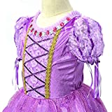 LOEL Rapunzel Princess Party Costume Long Dress (4-5YS)