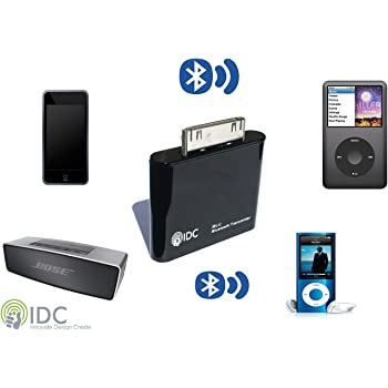 idc bluetooth ipod transmitter turn your ipod. Black Bedroom Furniture Sets. Home Design Ideas