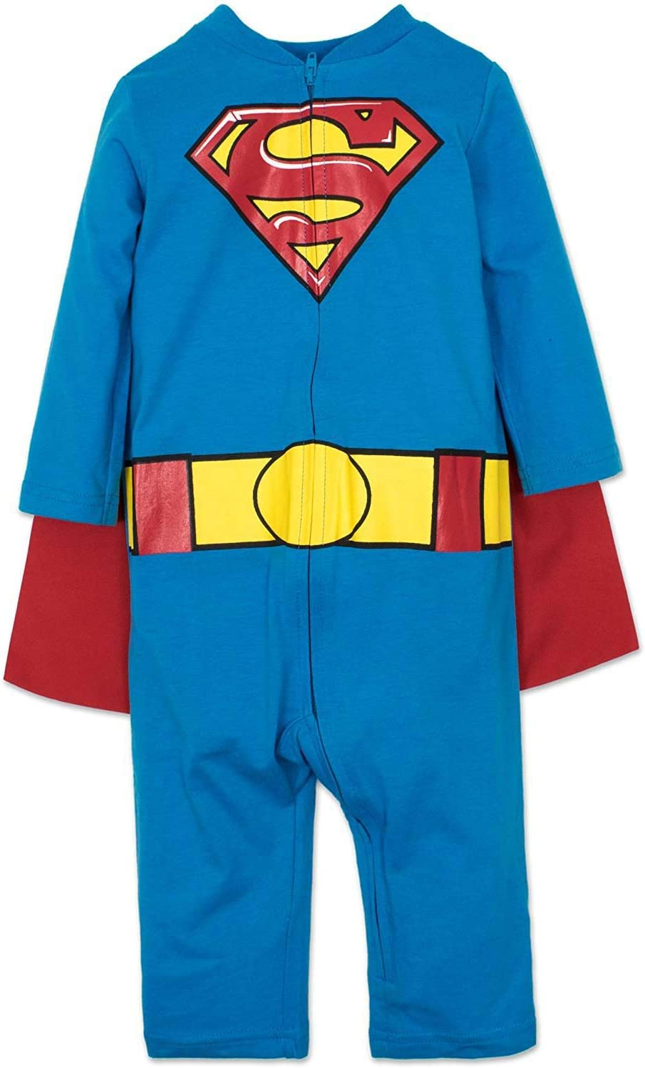 Warner Bros. DC Comics Mono de Supermán con Capa Divertido Disfraz ...