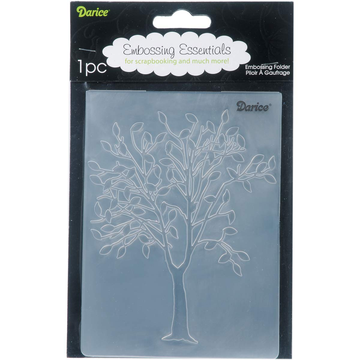 Embossing Folder Leafing Tree 4.25 X 5.75 Inches (8 Pack)