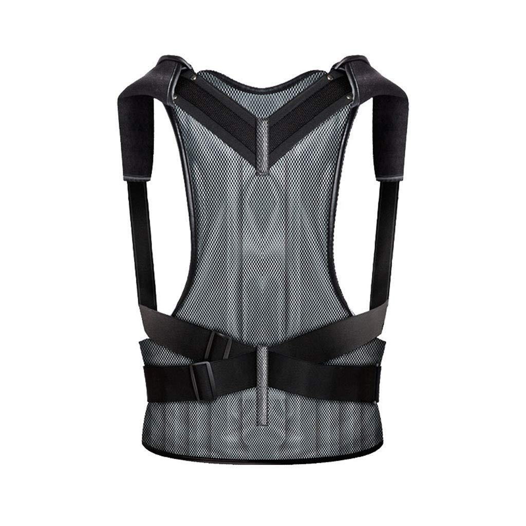 Back correction belt ZHAOSHUNLI Inflatable Anti-Humpback Correction Clothing Men and Women Invisible Students Adult Spinal Lumbar Correction (Size : M)