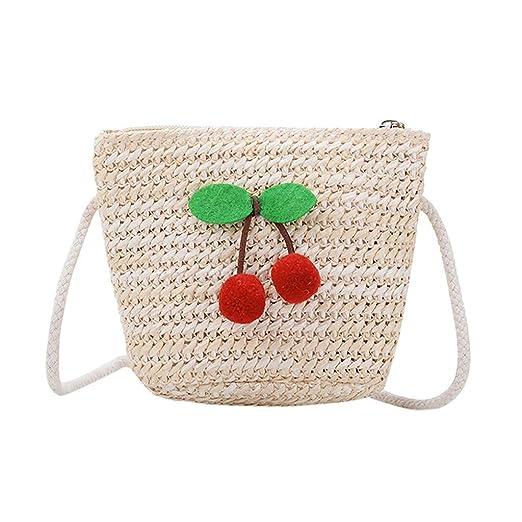 Vektenxi bolsa de paja de playa, bolsa de playa tejida para ...