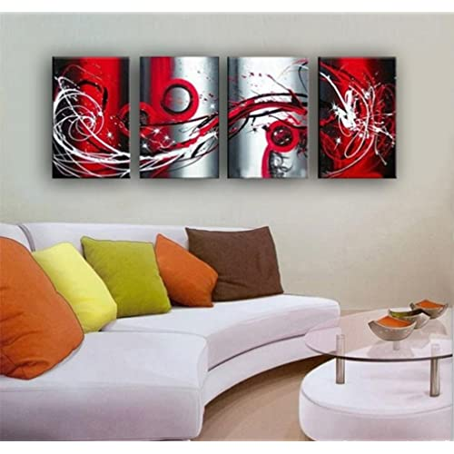 Black Grey Red Living Room Decor: Amazon.com