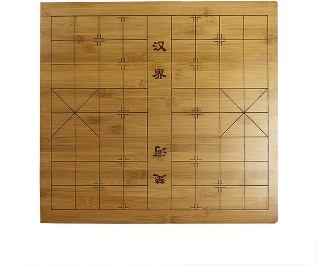 Bamboo Double-sided Chessboard Gobang// Chinese Chess Board Single Side Yunzi Color : A ZFF Go Game Set