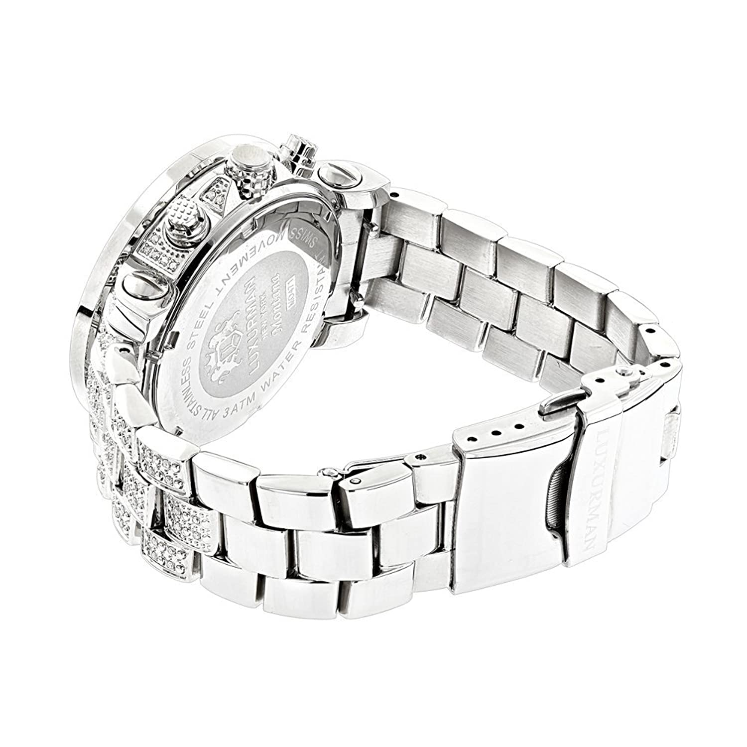 platinum midwestjewellers watch joe full rodeo mens diamond pin bracelet watches bazel