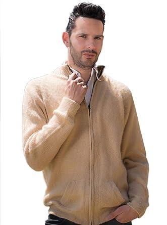 erstklassige Qualität Wählen Sie für offizielle am besten kaufen Gamboa - Alpaka Strickjacke für Herren in Beige mit ...