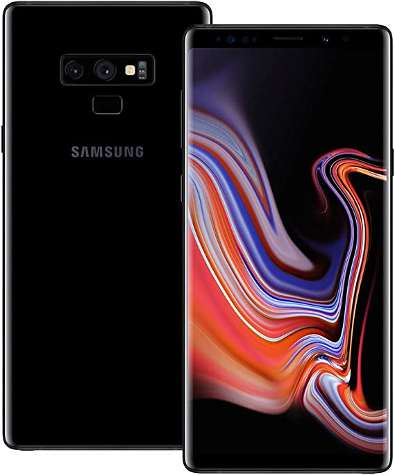 Amazon Com Samsung Galaxy Note9 N9600 128gb Unlocked Gsm Duos Phone W Dual 12mp Camera International Variant Us Compatible Lte Midnight Black Renewed Electronics