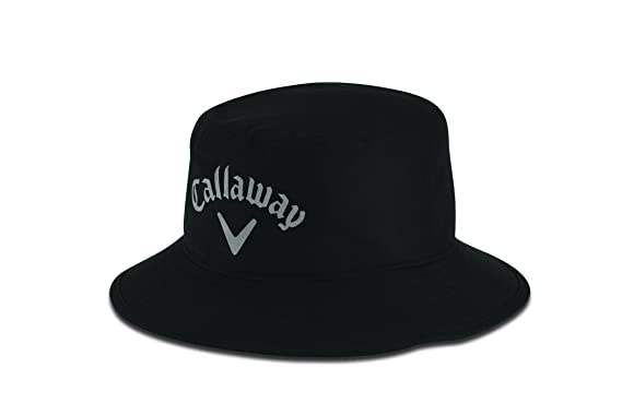 b7bf3a468 Callaway Golf Aqua Dry Bucket Hat, Black