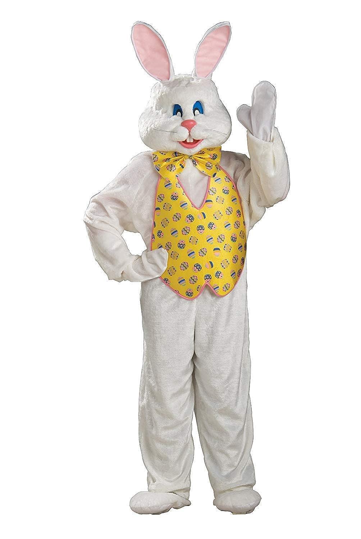 Amazon.com: Disfraz de conejo de Pascua para adulto con ...