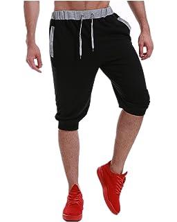 9abe542badcb MODCHOK Men s Shorts Causal Jogging Pants Sweat Jersey Trousers Sport Gym  Bottoms