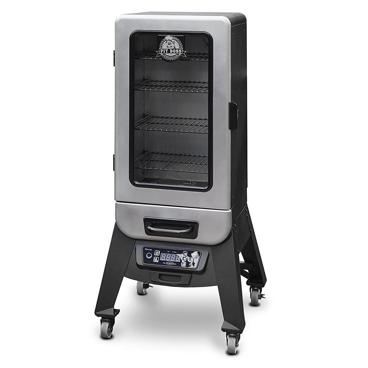 Pit Boss Grills 77232 Digital Vertical Electric Wood Smoker, 3.2
