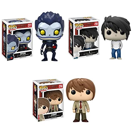 Death Note L Birthday Card Funny Deathnote 'EAT CAKE' Funko Anime Birthday Card Celebrations & Occasions Home, Furniture & DIY