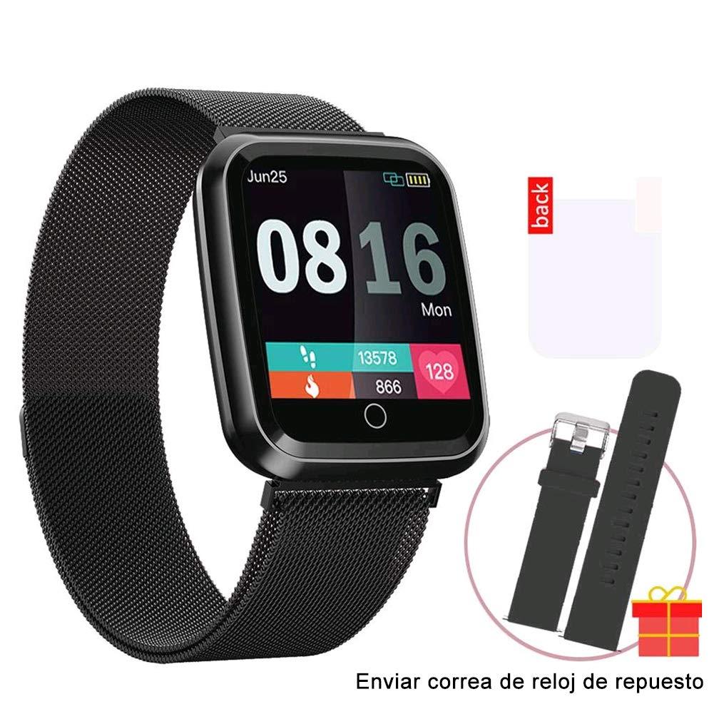 Amazon.com: Smart Watch, Unisex Waterproof IP68 Men Women ...