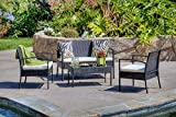 The-Hom Teaset 4 Piece All-Weather Patio Conversation Set in Beige offers