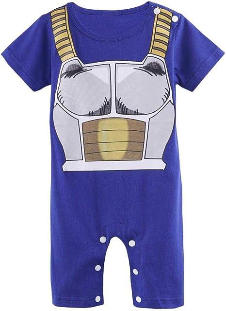 SIBAWAY | Pelele manga bebé azul | Pijama Rigolo Geek | Disfraz de ...