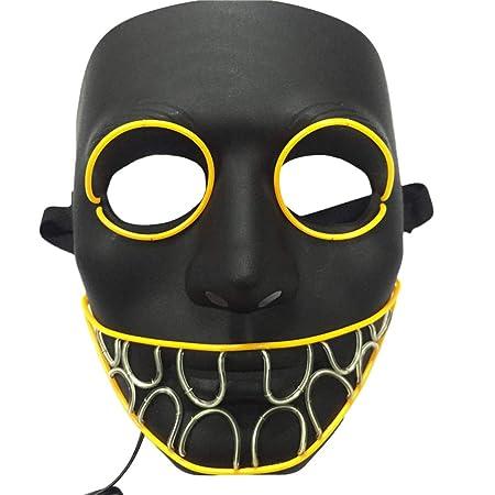Watopi Maschera Spaventosa E Luminosa Per Cosplay Costume