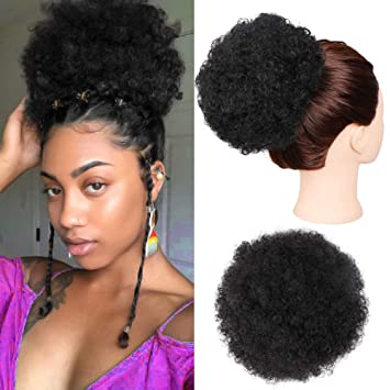 Amazon Com Gx Beauty Ponytail Afro Puff Ponytail For Natural Hair
