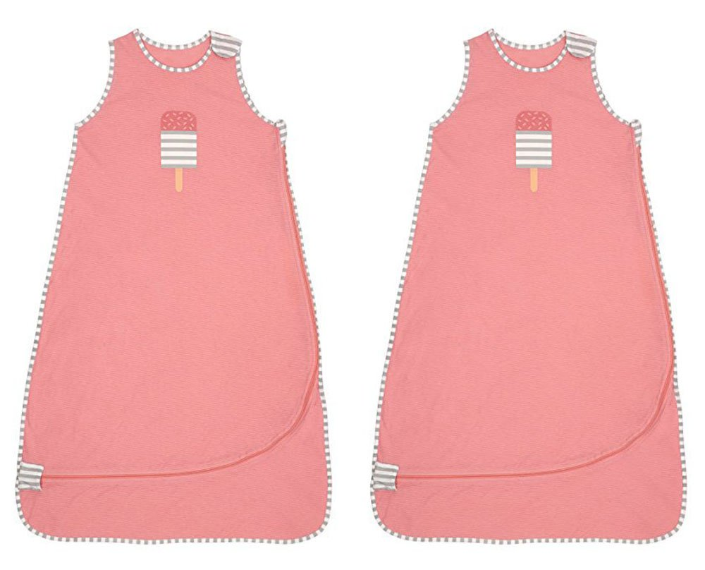 Love to Dream Nuzzlinスリープバッグ M ブルー 43235-4893 M 2 Pack - Pink B07BZCNW35