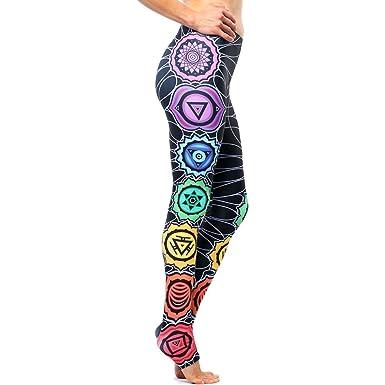 dacd8dcae2f0c6 Amazon.com: Sankalpa Yoga Pants - Chakra Energy: Clothing