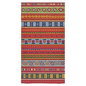 Beach Towel Modern Aztec Tribal Design 22 Design 30 x 60 Inches Machine Washable, Perfect for College Dorm, Pools, Gyms, Beaches, Locker Rooms, Bathroom Shower Wrap, Beach Wrap, Bath Wrap, Spa Wrap