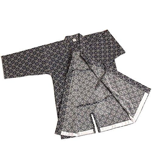 ZooBoo Mens Kendo/Aikido Keikogi Hakama Martial Arts Jackets (XL, Dark Blue) ()