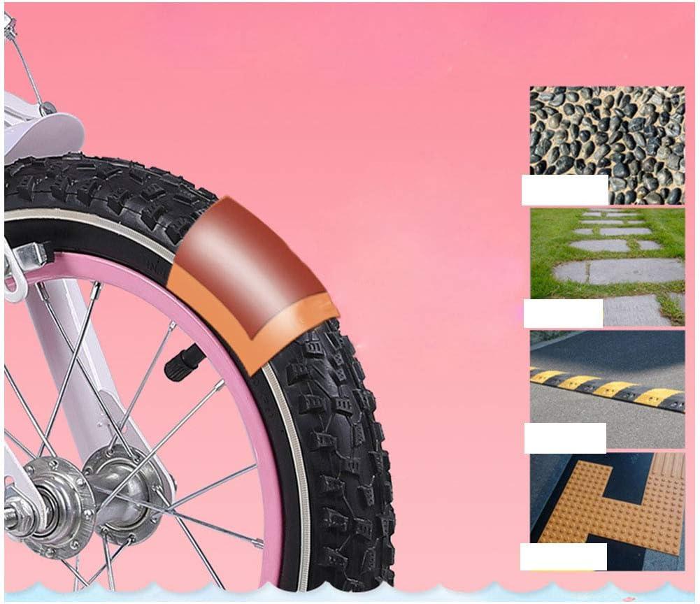 BXWQPP Dessin Anim/é Bikes MTB V/élo Enfant pour Garcons et Filles 3-6 Ans Bicyclette Enfant 12 14 Pouces avec Freins Roues Stabilisatrices Rouler en V/élo Faire du V/élo Panier Tress/é,12inches
