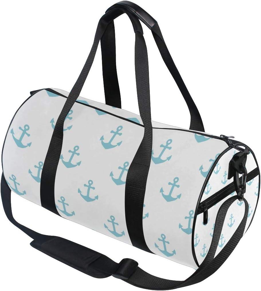 MALPLENA Azure Kelleg Drum gym duffel bag women Travel Bag