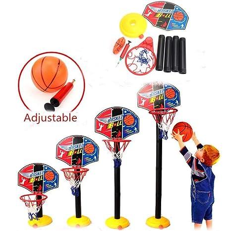LYH Canasta Baloncesto Infantil Soporte De Baloncesto para Niños ...