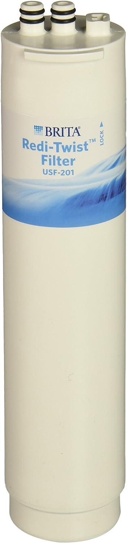 Brita Redi-Twist Under-Sink Replacement Filter, Level 1 USF-201