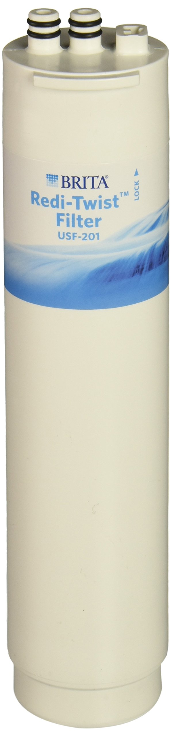 Brita Redi-Twist Under-Sink Replacement Filter, Level 1 USF-201