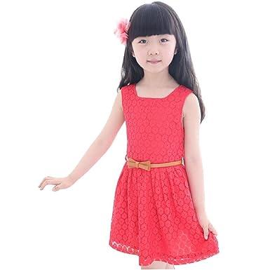 Ouneed Ouneed® Kinderkleidung, Kleid Mädchen (3-12 Jahre alt) Sommer ...