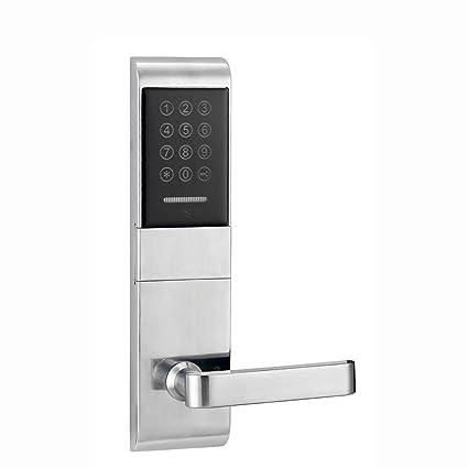 DLL H1078YXM1M Smart Inducción Contraseña Cerradura Electrónica, Cerraduras De Puerta De Palanca Inteligente para Oficina