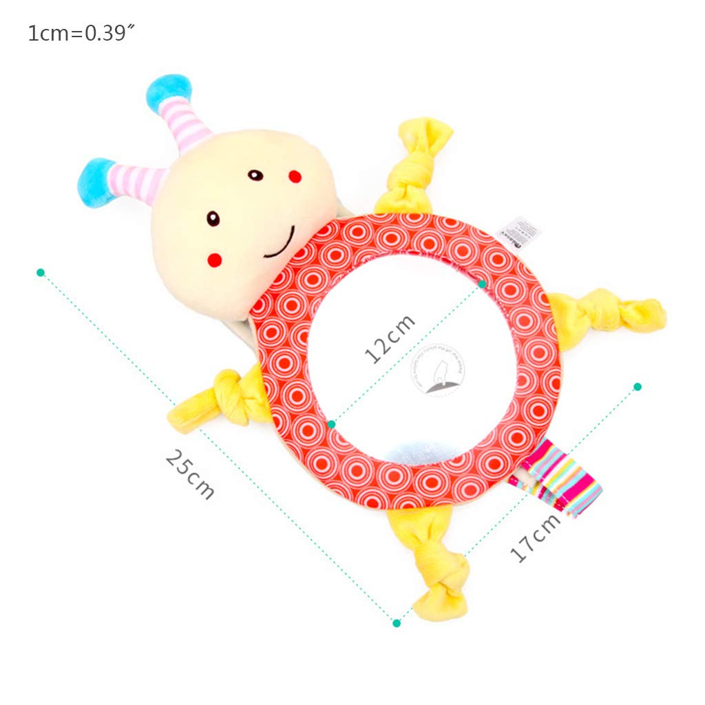 Baby Reverse Seat Mirror Cute Cartoon Dog Bunny Animal Car Rearview Sight Glass Auxiliary Mirrors