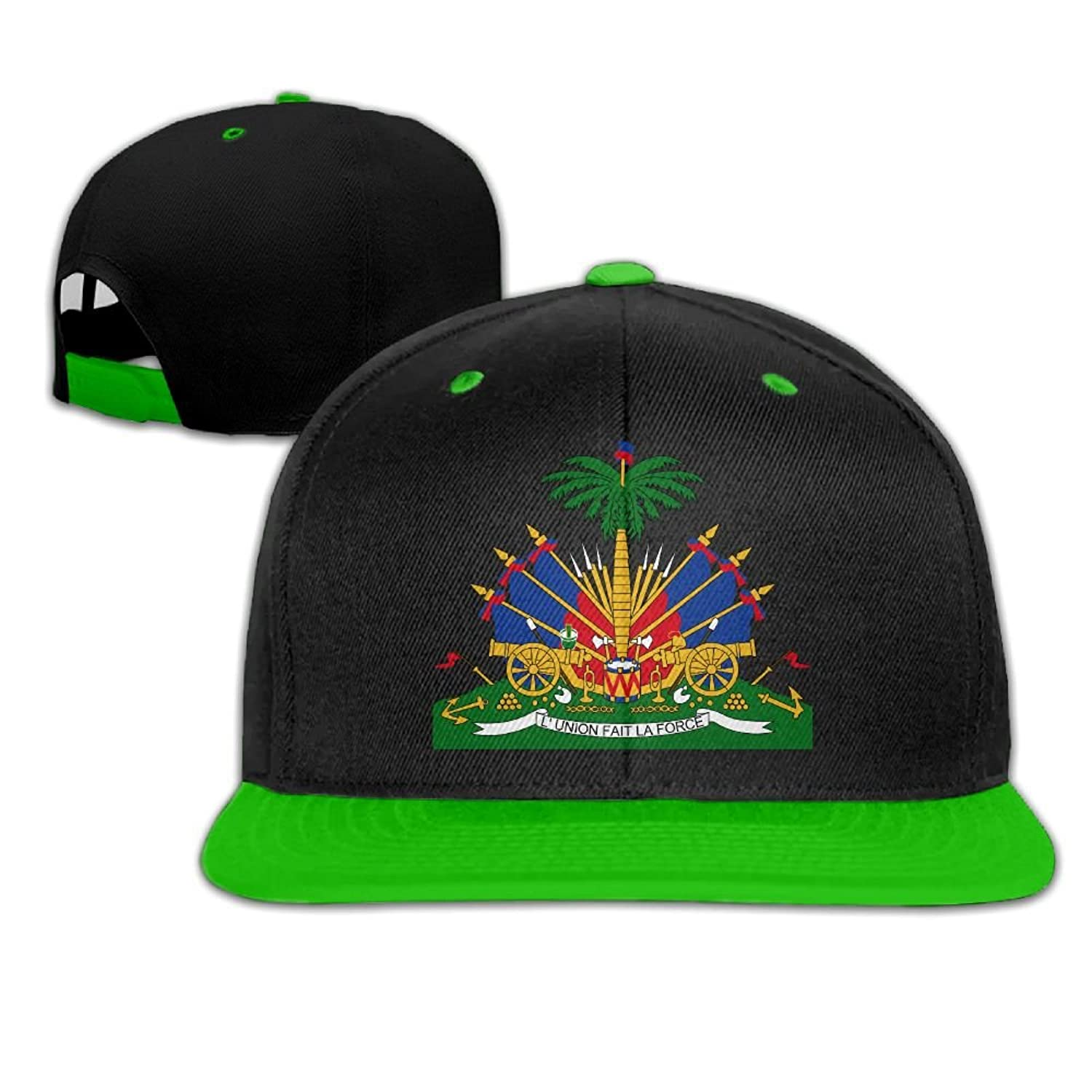 SDFS83 Coat Of Arms Of Haiti Baseball Cap Adjustable Athletic Hat For Men  and Women at 9376785132