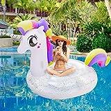 Jasonwell Giant Inflatable Unicorn Pool Float...