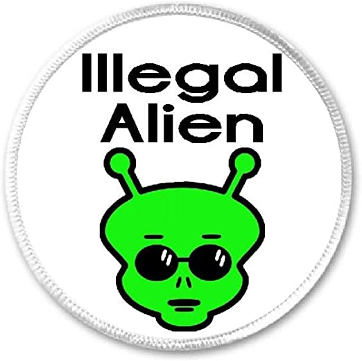 Amazoncom Illegal Alien Sunglasses - 3 Circle SewIron On Patch