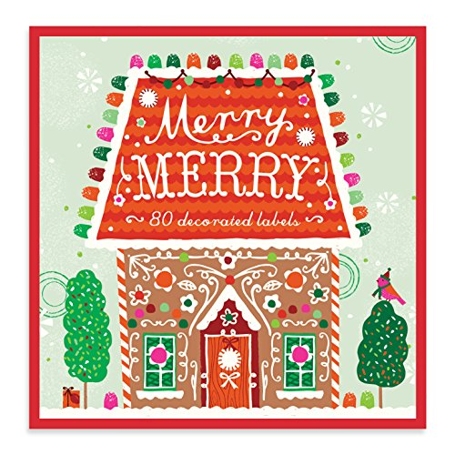 A Sweet Christmas Holiday Book of Labels