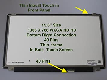 f7ba009f4c7c B156XTK01.0 For DELL Inspiron 15 3558 5558 JJ45K New Replacement LCD Screen  for Laptop LED HD Glossy